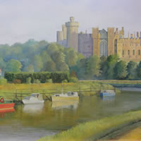 Arundel Castle - Guildford Surrey Artist Daniele Mandelli