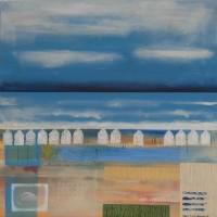 Beach Huts 2 Coastal Art Gallery