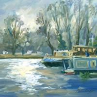 Walsham Sunlight - Painting by Melanie Cambridge