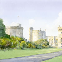 Windsor Castle Art Prints – Berkshire Artists Website