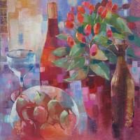 Lightwater Surrey Artist Liz Seward - Still Life