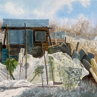 Allotments: Protecting Paul's Brussels – Reading Berkshire Artist Therese Lawlor
