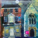 Friar Street, Reading – Landscape Painting of Blandy and Blandy Solicitors – Berkshire Artist Thérèse Lawlor