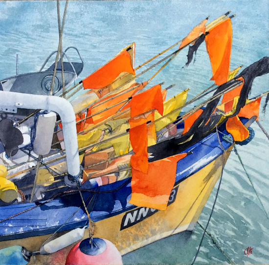 Markers - Reading Guild of Artists and The Royal Society of Marine Artists member - Richard Cave
