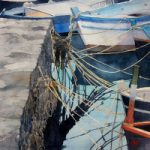 Painters Confusion-Acitrezza – Watercolour Painting by Royal Society of Marine Artists member Richard Cave