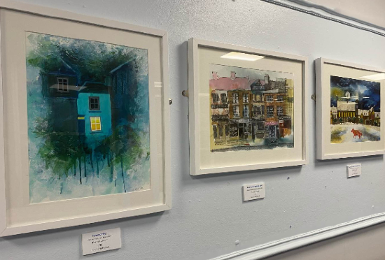 Paintings Exhibition at Reading Hospital - 25% of sales to the hospital's voluntary services charity