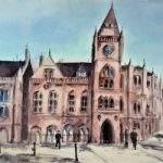 Reading Town Hall – Clock Tower – Berkshire Art Gallery – Kusum Shabong