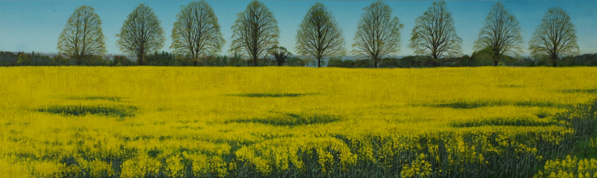 The Road to Ashampstead Spring Landscape Art