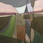 Winter Fields Contemporary Art – Spencers Wood near Shinfield Artist David Cotton