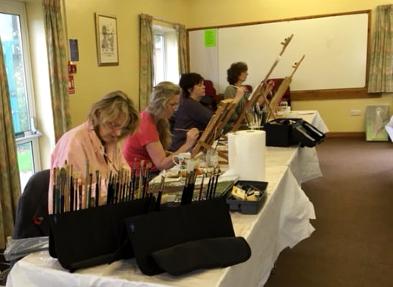 Art Class in Maidenhead Berkshire - Art Tutor Maria Meerstadt