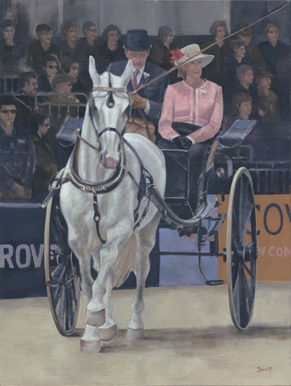 Berkshire Art Gallery - Royal Windsor Horse Show - Horse and Carriage Competition