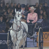Berkshire Art Gallery – Royal Windsor Horse Show – Horse and Carriage Competition