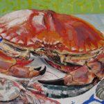 Crab and Shrimps – Oil Painting and Giclée Prints by Coastal Artist Karen Davies