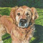 Dog Portrait – Max – Cookham Animal Artist Karen Davies
