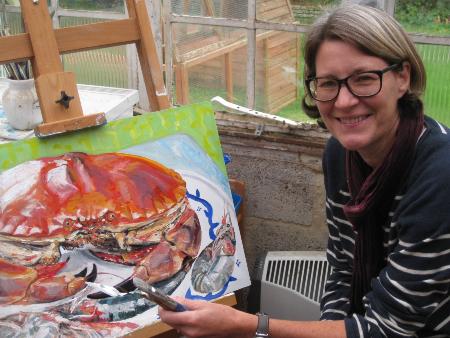 Karen Davies Cookham Art Studio