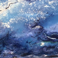 Contemporary Art – Orca – Cookham Arts Club member Wendy Mercer Gallery