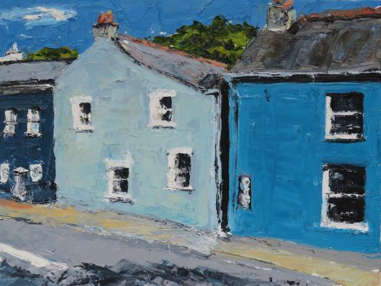 Solva - Coastal Pembrokeshire Village - Cookham Berkshire Artist Karen Davies
