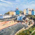 Tenby Beach South Wales – Cookham Berkshire Landscape Artist Karen Davies