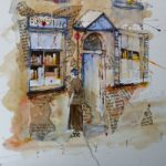 The Bookshop – Reading Guild of Artists member Mohan Banerji – Berkshire Art Gallery