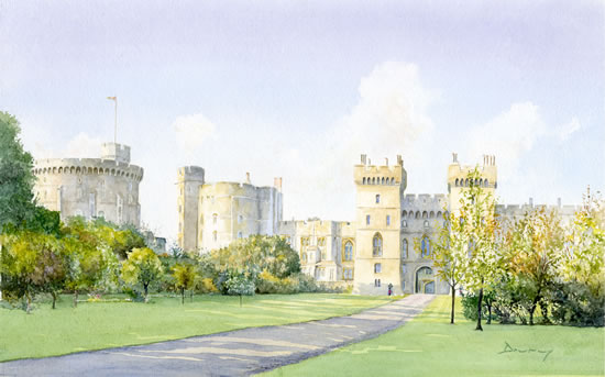 Windsor Castle Art Prints - Berkshire Artists Gallery