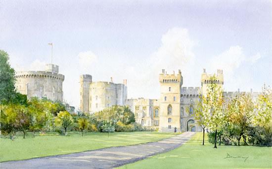 Windsor Castle Art Prints - Berkshire Artists Gallery