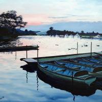 Windsor Rail Bridge Berkshire Art Gallery -Painting