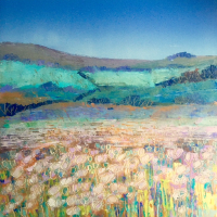 Poppy Fields – Oxfordshire – Reading Guild of Artists member Clare Buchta