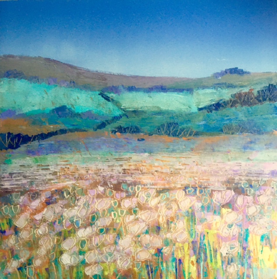 Poppy Fields - Oxfordshire - Reading Guild of Artists member Clare Buchta