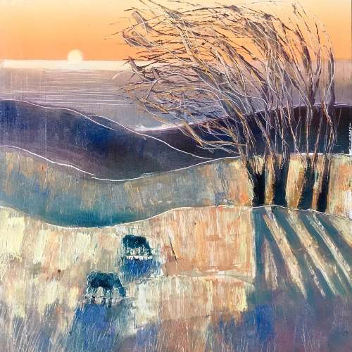 Sussex Coast Abstract Art - Berkshire Artist Clare Buchta