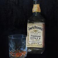 Jack Daniels Whisky - Berkshire Art Gallery - Fred Bennett
