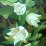 Yucca – Oil Painting sold by Wokingham Art Society member – Berkshire Artist Fred Bennett