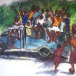 Zimbabwean Taxi Home – Crowthorne and Sandhurst Art Society member Jenny Whalley